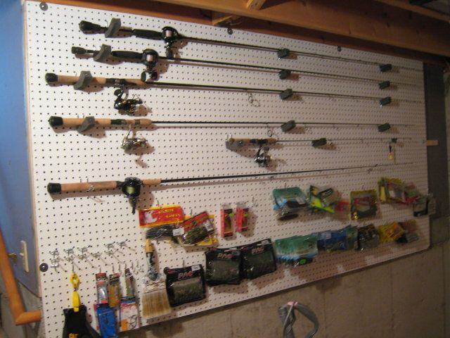 Garage Organization For Tackle, Need Ideas - Fishing Tackle - Bass Fishing Forums