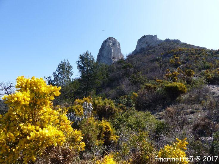 Le Pilon du Roi 710 m. Massif de l'Étoile
