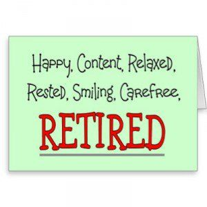 cute happy retirement wishes