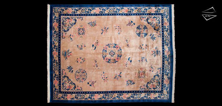Peking Design Chinese Style Weave Oversize Carpet 12′ 0″ X 15′ 0″
