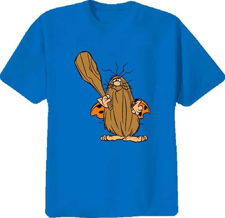 Captain Caveman Cartoon Retro T-Shirt T Shirt Quality T Shirts Men Printing Short Sleeve O Neck 2017 Fashion Short #Affiliate