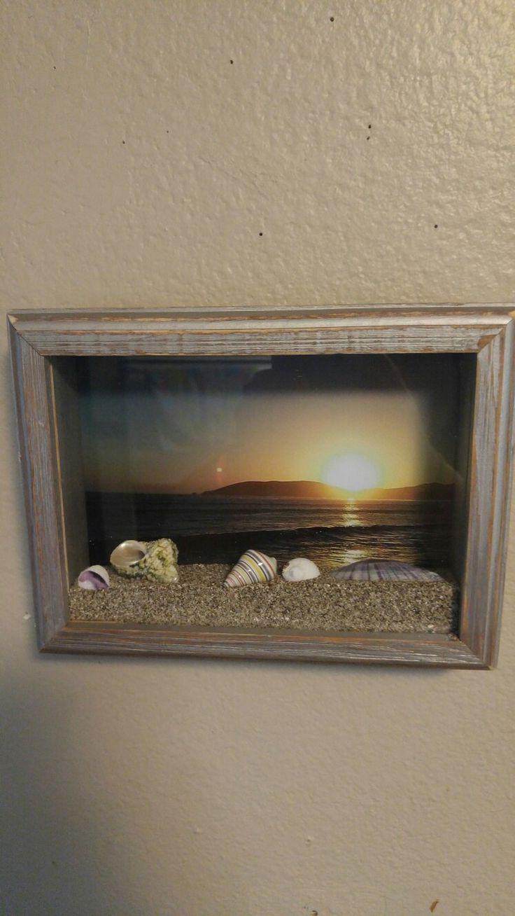 best ideas about shadow box christmas shadow beach shadow box more