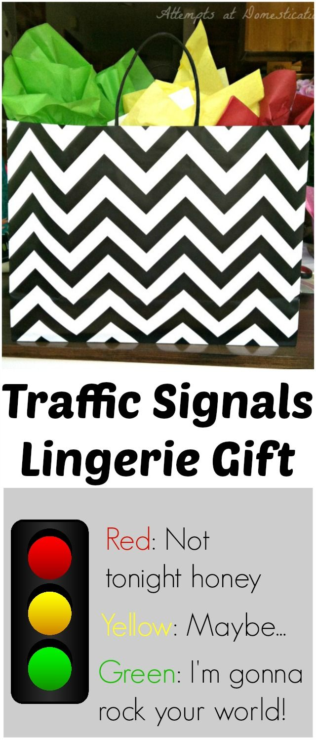 "Traffic Signals Lingerie, or how about we act like grownups and verbally give consent to our spouses. I can see it now, ""it wasn't rape, she was wearing her green underwear"". Bleck"