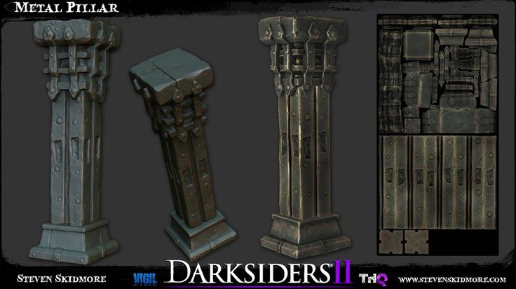 Steven Skidmore - Darksiders 2 lovin' - portfolio overhaul - Polycount Forum