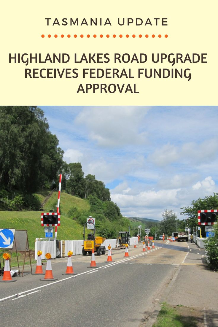 These upgrades will improve the road safety and provide great value to the visitors from around the state.