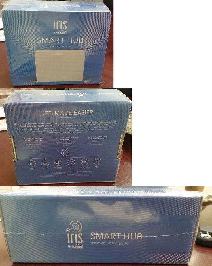 Home Automation Kits: Iris Smart Hub Home Automation System, New Version, Brand New, Factory Sealed -> BUY IT NOW ONLY: $44.99 on eBay!