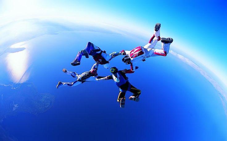 fonds d'écran sports - parachute