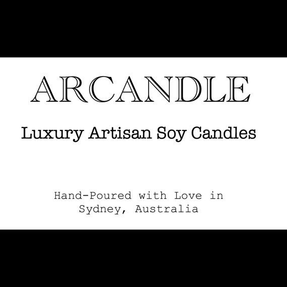 50+ hours burn time,  Large Soy Candle by ArcandleSoyCandles on Etsy