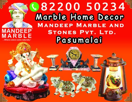 Marble Home Decor @ Madurai. call +91 82200 50234.