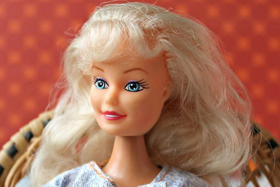 Vintage 1980s/90s Barbie Size  Clone by DollEnthousiastHome