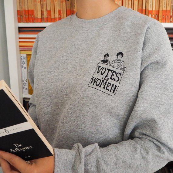 Feminist jumper SWEATER sweat SHIRT WE SHOULD ALL BE FEMINISTS top tee grunge