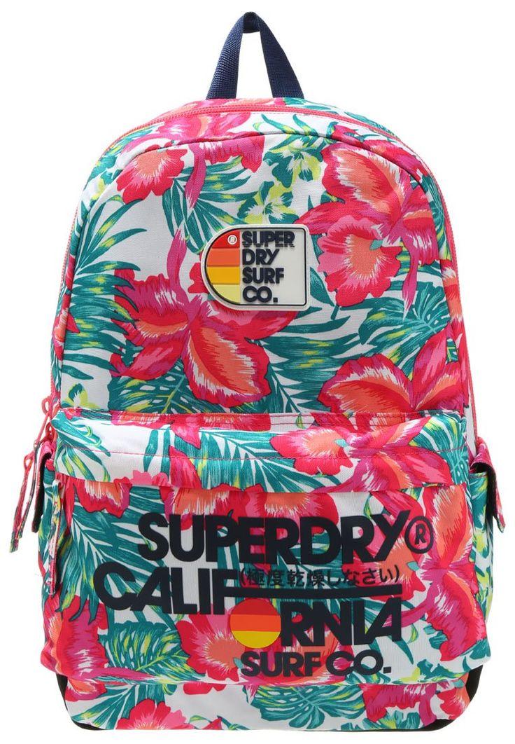 Superdry BATEMAN MONTANA Plecak tropical pink