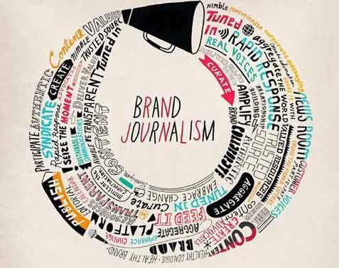 Brand journalism graphic, 2013 Digital Advertising Trends