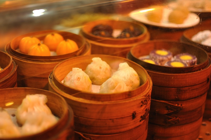 Dim sum in Hong Kong