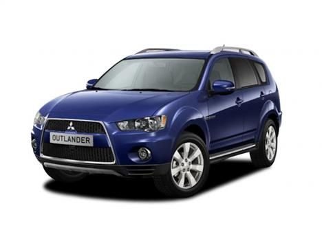 The Mitsubishi Outlander Diesel Estate  #carleasing deal | One of the many cars and vans available to lease from www.carlease.uk.com