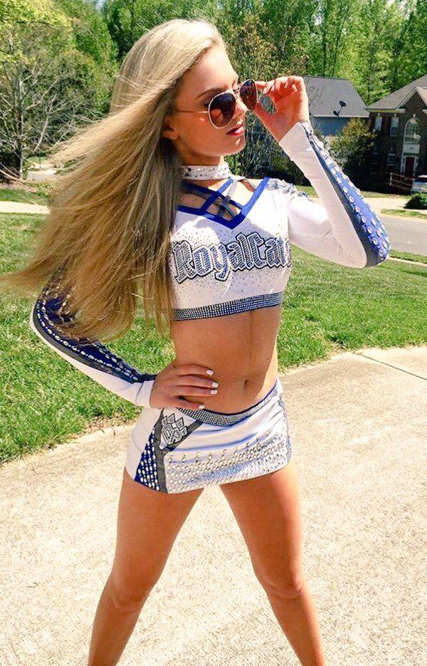 Cheer Athletics Charlotte Royalcats worlds 2016 uniform