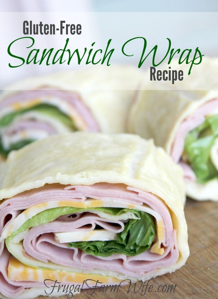 This gluten-free Sandwich Wrap recipe will be a favorite with your entire family! It's super easy to mix up, and only takes 5-7 minutes to bake!