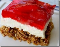 STRAWBERRY PRETZEL SALAD - THIS IS SO GOOD!: Tasty Recipe, Strawberries, Recipes, Strawberry Pretzel Salad, Pretzels, Pretzel Desserts, Jello Salad, Strawberry Pretzel Dessert
