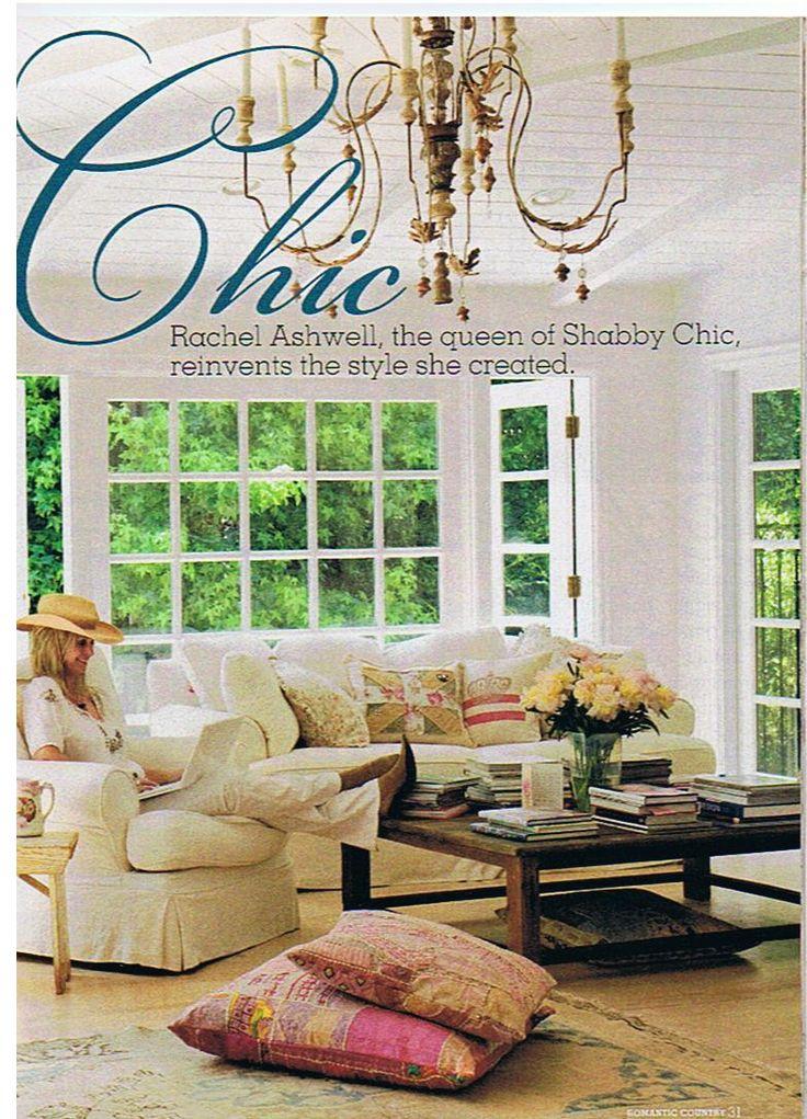133 best decorator rachel ashwell images on pinterest for Rachel ashwell house