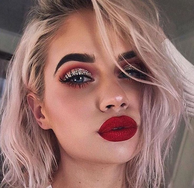 Best 25+ Red eyeshadow ideas on Pinterest | Red eye makeup, Red ...
