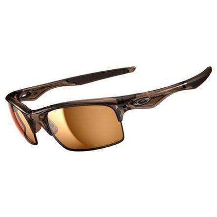 Oakley Bottle Rocket Polarized Oval Brown Smoke / Bronze Polarized Mens Sunglasses - OO9164-916405