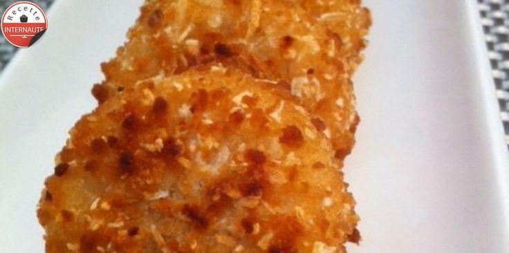 Palets de fromage panés