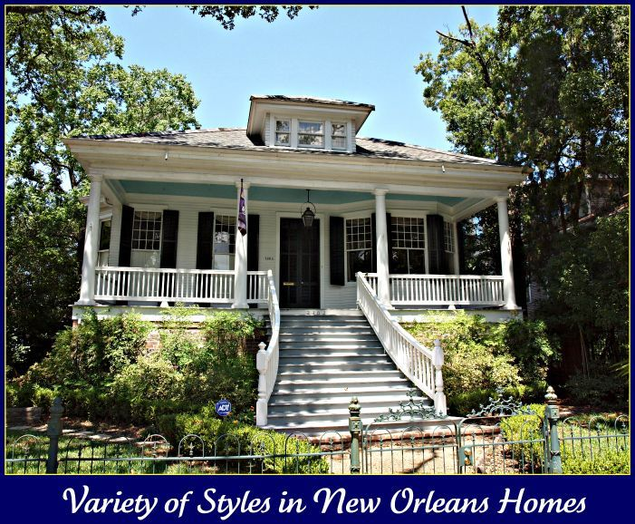 Old new orleans style homes new orleans homes and for New style homes