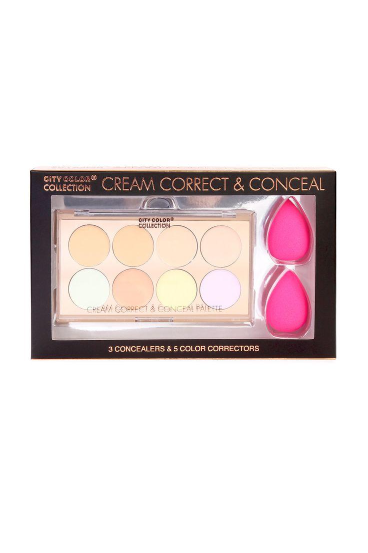 city color cream correct conceal set - Concealer Color Guide