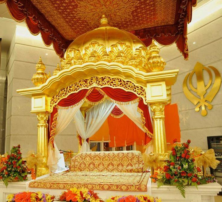 Palki Sahib At Gurudwara Sahib Guru Nanak Darbar Dubai