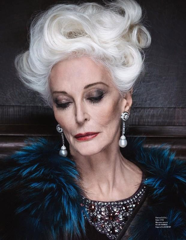 carmen dell'orefice | Carmen dell'Orefice L'Officiel Azerbaijan February 2015