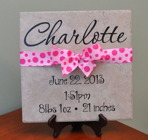 25 unique birth gift ideas on pinterest new baby boys baby personalized baby shower gift negle Choice Image