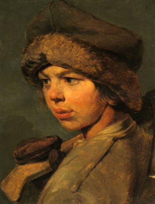Венецианов Алексей Гаврилович. Захарка