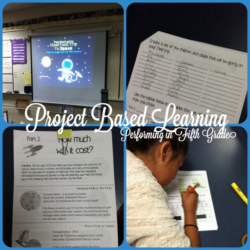Project Based Learning in 5th is AWESOME!!