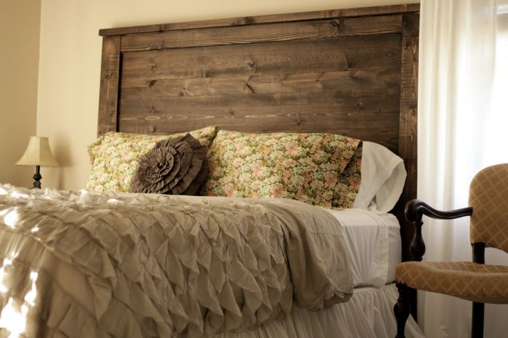Shabby Chic Master Bedroom How About That Headboard He Did An Amazing Job Projects To Try