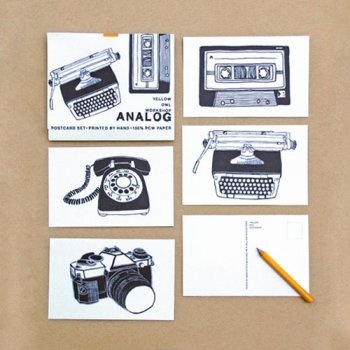 Analog Postcards