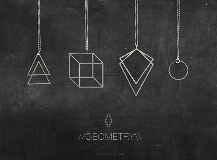 Geometry Jewelry Collection // moodlikeme.com
