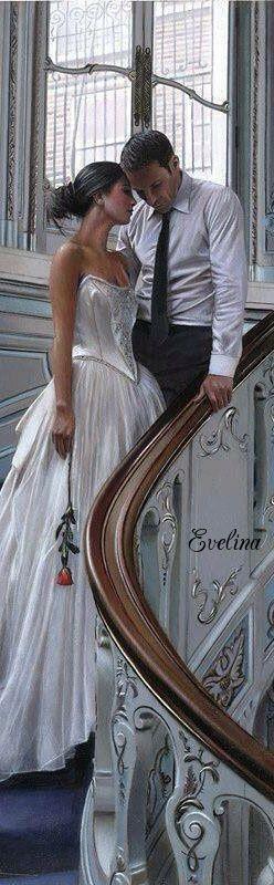 Gorgeous wedding photo. #weddings #romantic