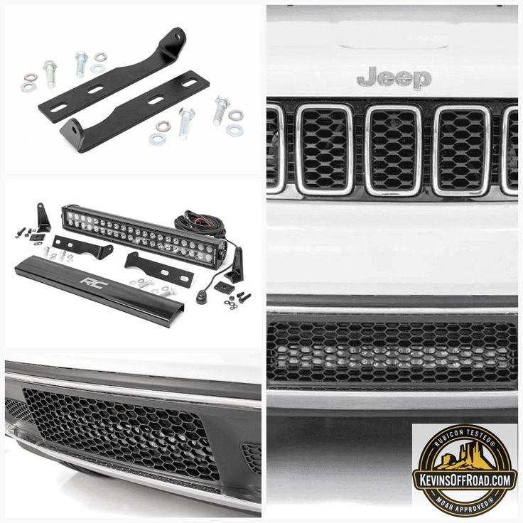 WK2 Grand Cherokee Jeep 20in LED Bumper Kit Black