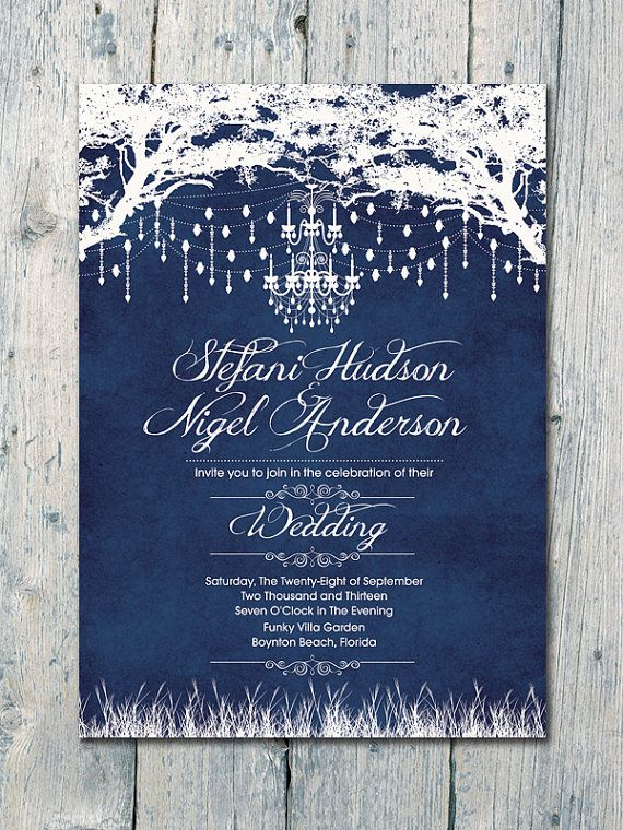 Digital  Printable Files  Navy  Royal Winter by WeddingSundaeShop