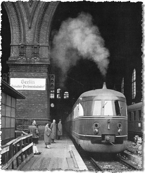 Anhalter Bahnhof in den 30ern
