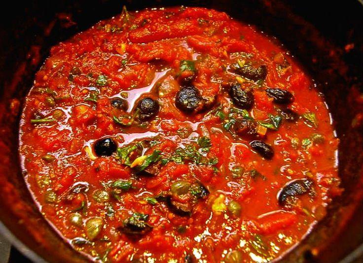 salsa putanesca