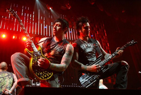 Avenged Sevenfold : Zacky Vengeance and Synyster Gates
