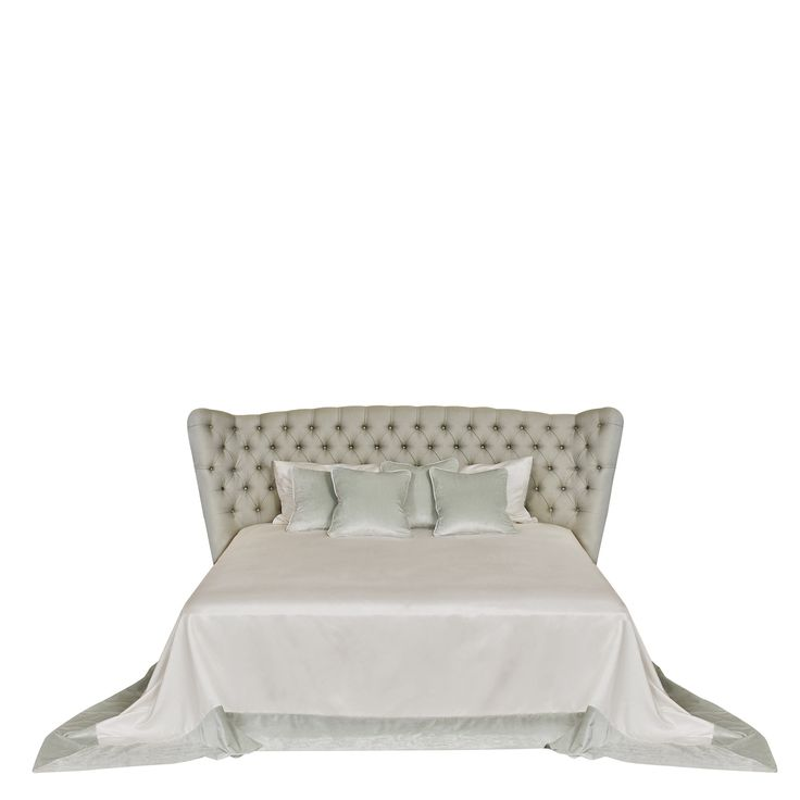 Buy FROU FROU bed by Promemoria - Made-to-Order designer Furniture from Dering Hall's collection of Contemporary Transitional Headboards.