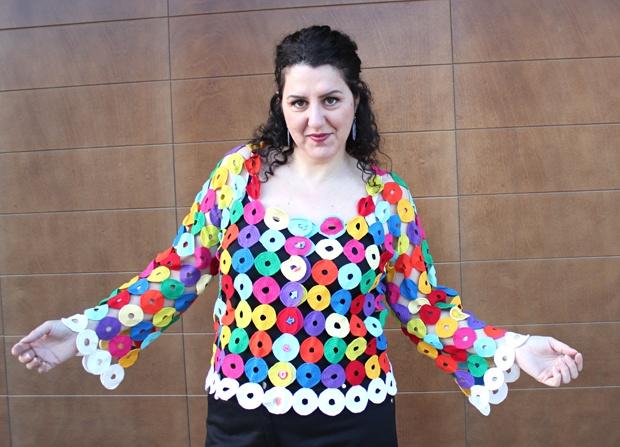handmade [by me!] crochet cardigan