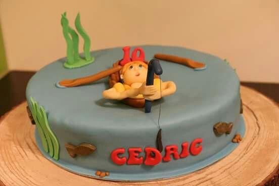 Fisherman Cake  Visser taart