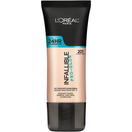 L'Oreal Paris Infallible Pro-Glow Foundation, 1 fl oz - Walmart.com