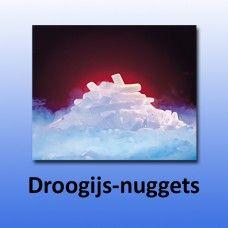 Droogijs pellets&nuggets