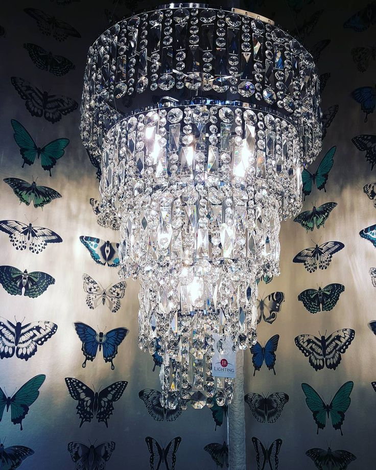Modern and Contemporary Crystal Hanging Chandelier Ceiling Light for a dramatic lighting effect in your home