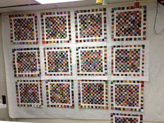 27 best Quilts - Postage Stamp images on Pinterest | Quilting ... : design walls for quilting - Adamdwight.com
