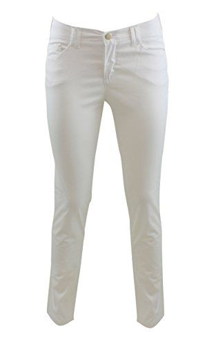 Armani Jeans A5J28DO 10 Pantalone cinque tasche Bianco 31 Woman >>> Check out this great product.(This is an Amazon affiliate link)